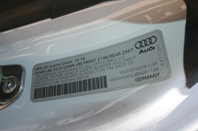 2011 Audi R8 V10 Convt 5.2L Houston, Texas 22