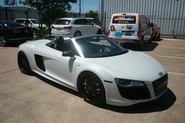 2011 Audi R8 V10 Convt 5.2L Houston, Texas 13