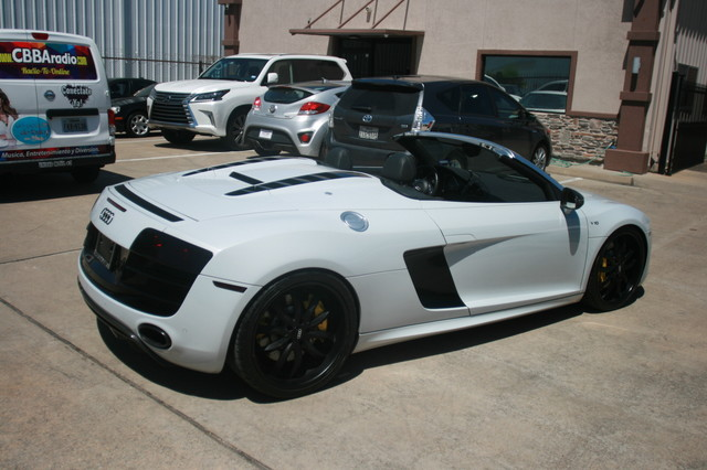 2011 Audi R8 V10 Convt 5.2L Houston, Texas 14