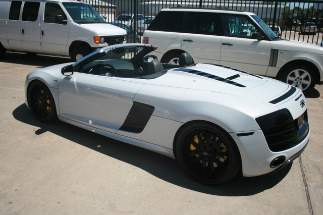 2011 Audi R8 V10 Convt 5.2L Houston, Texas 15