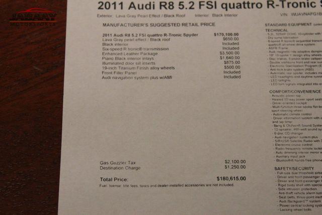 2011 Audi R8 5.2L Merrillville, Indiana 49