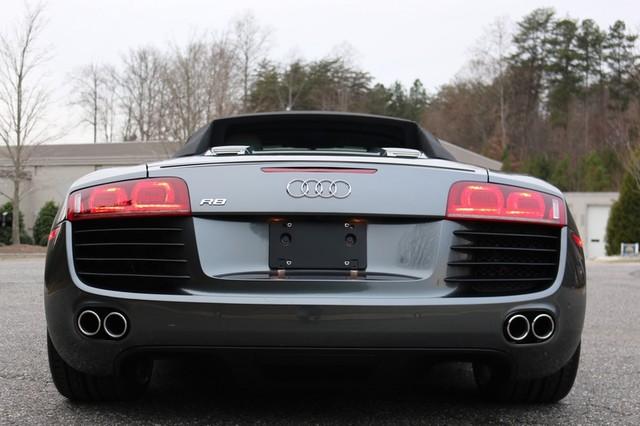 2011 Audi R8 Roadster 4.2L Mooresville, North Carolina 80
