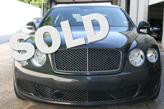 2011 Bentley Continental Flying Spur Speed Houston, Texas 0