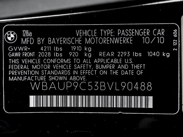 2011 BMW 128i Burbank, CA 40