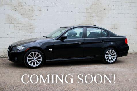 2011 BMW 328xi xDrive AWD w/6-Speed Manual, Heated Seats & Heated Steering Wheel, Moonroof & HiFi Audio in Eau Claire