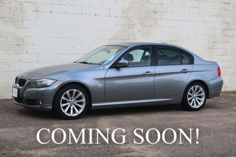 2011 BMW 328xi xDrive AWD with Heated Seats and Steering Wheel, Moonroof, Comfort Access & HiFi Audio in Eau Claire