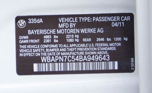 2011 BMW 335d Burbank, CA 22