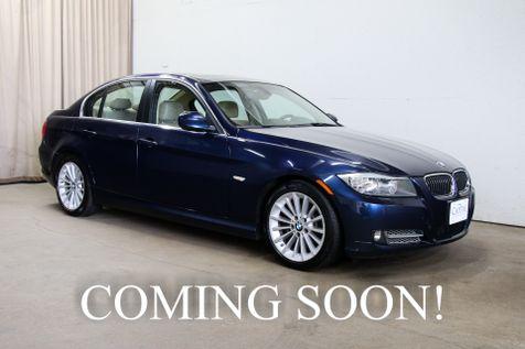 2011 BMW 335d Turbo Clean Diesel w/Navigation, Premium Pkg, Heated Seats and Steering Wheel in Eau Claire