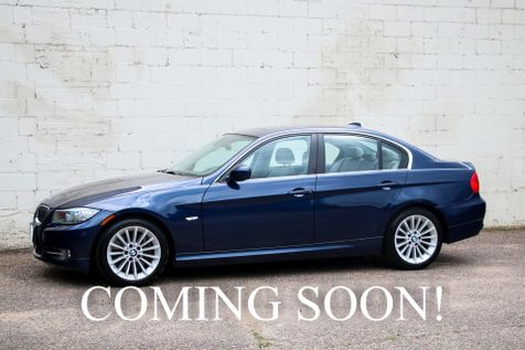 2011 BMW 335d Clean Diesel w/Heated Seats & Steering Wheel, Harman/Kardon Audio & Gets 35+ MPG in Eau Claire