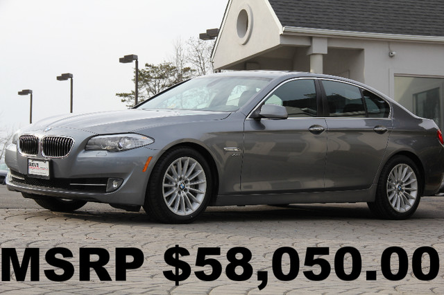2011 BMW 5-Series AWD 535i xDrive 4dr Sedan AMFM CD Player Anti-Theft Sunroof AC Cruise Powe