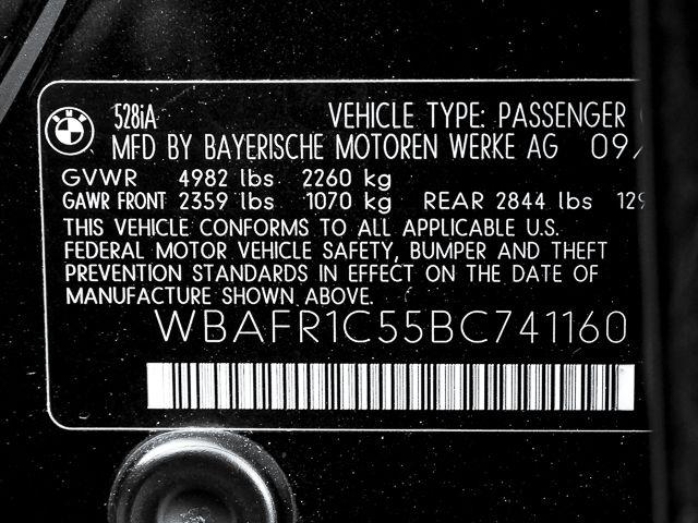 2011 BMW 528i Burbank, CA 27