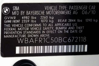 2011 BMW 528i 1-OWNER * Navigation * Sunroof * Cold Weather Pkg Plano, Texas 43