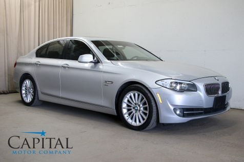 2011 BMW 535xi xDrive AWD Luxury Car with Navigation, Heated Seats, Moonroof & Bluetooth Audio in Eau Claire