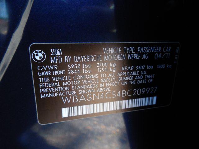 2011 BMW 550i Gran Turismo GT Leesburg, Virginia 44