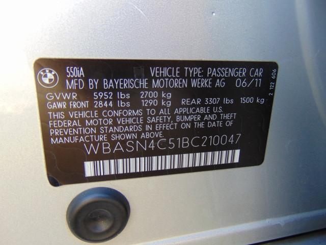 2011 BMW 550i Gran Turismo Leesburg, Virginia 49