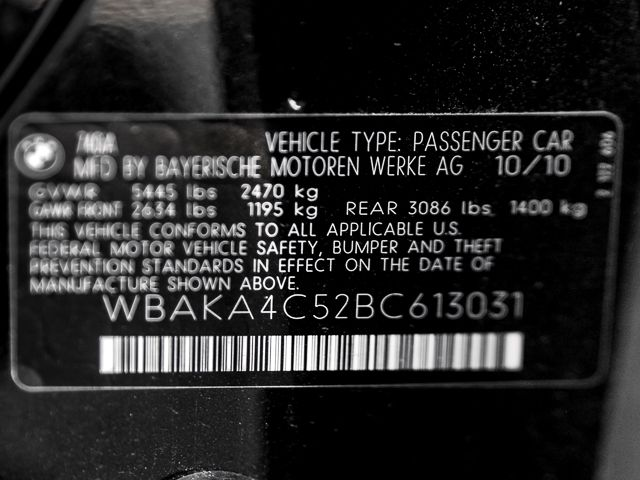 2011 BMW 740i Burbank, CA 20