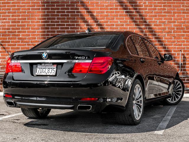 2011 BMW 740i Burbank, CA 4