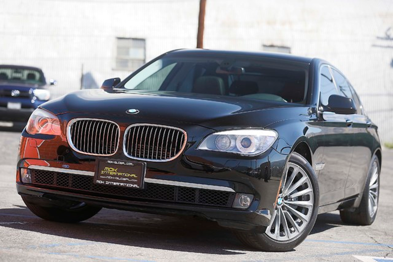 2011 BMW 750i - Comfort seats - Cameras   city California  MDK International  in Los Angeles, California
