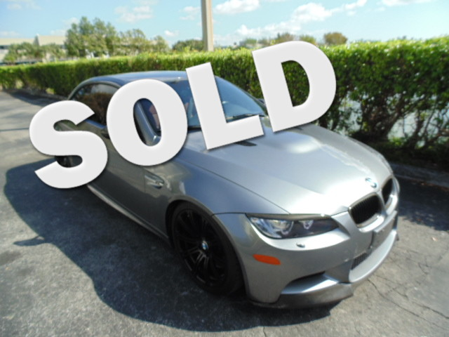 2011 BMW M Models This 2011 BMW M3 CONVERTIBLE is a non-smoker Florida car and is CARFAX certifi