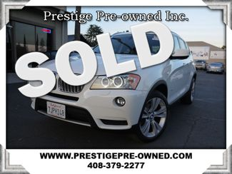 2011 BMW X3 xDrive35i 35i (AWD) (*NAVIGATION & BACK UP CAMERA*)  in Campbell CA