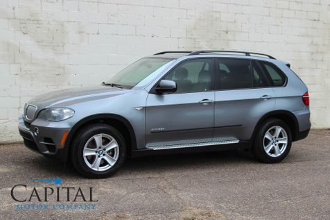 2011 BMW X5 xDrive35d AWD Diesel SUV with 3rd Row Seats Navigation, Technology Pkg & Bluetooth Audio in Eau Claire