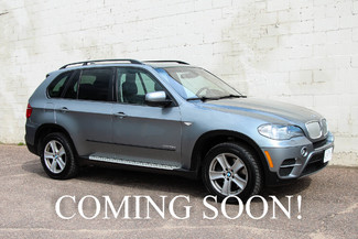 2011 BMW X5 xDrive35d AWD Diesel SUV with 3rd Row Seats, Navigation, Cold Weather Package & Bluetooth Audio in Eau Claire