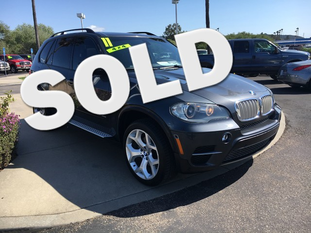 2011 BMW X5 xDrive35d 35d This is a BMW X XDrive35D Space Gray Metallic Exterior Black Leather I