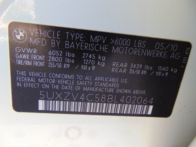 2011 BMW X5 xDrive35i Sport Activity Leesburg, Virginia 47
