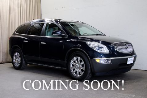 2011 Buick Enclave CXL AWD SUV with 3rd Row Seats Navigation, Backup Cam, Heated Seats & BOSE Audio in Eau Claire