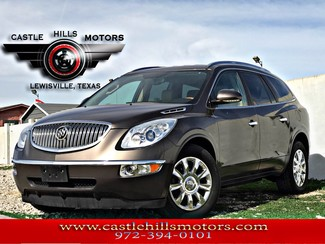 2011 Buick Enclave  **INCLUDES 2 YRS FREE MAINTENANCE** CXL-2 - Leather, Bose, Rear Camera, Cold Seats | Lewisville, Texas | Castle Hills Motors in Lewisville Texas
