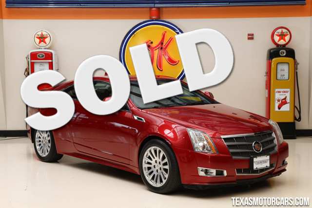 2011 Cadillac CTS Coupe Performance This 2011 Cadillac CTS Coupe Performance is in great shape wit