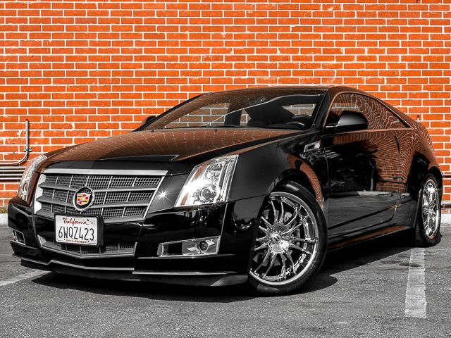 2011 Cadillac CTS Coupe Premium Burbank, CA 0