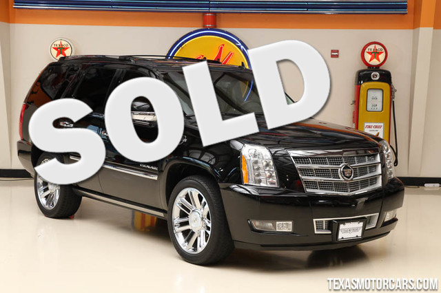 2011 Cadillac Escalade Platinum Edition This clean Carfax 2011 Cadillac Escalade Platinum Edition