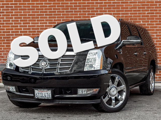 2011 Cadillac Escalade ESV Premium Burbank, CA 0