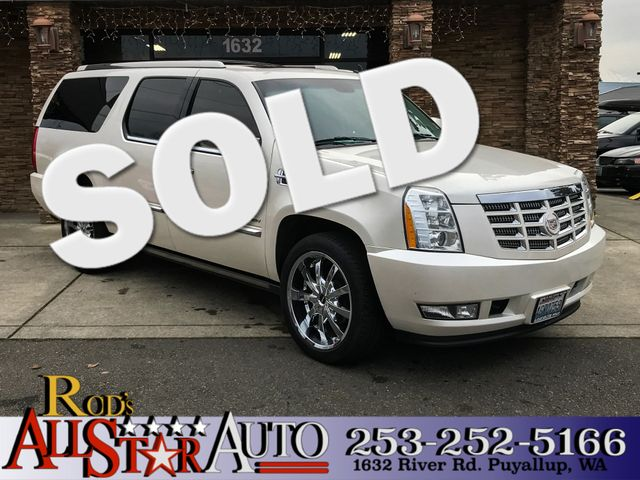 2011 Cadillac Escalade ESV Premium AWD This vehicle is a CarFax certified one-owner used car Pre-