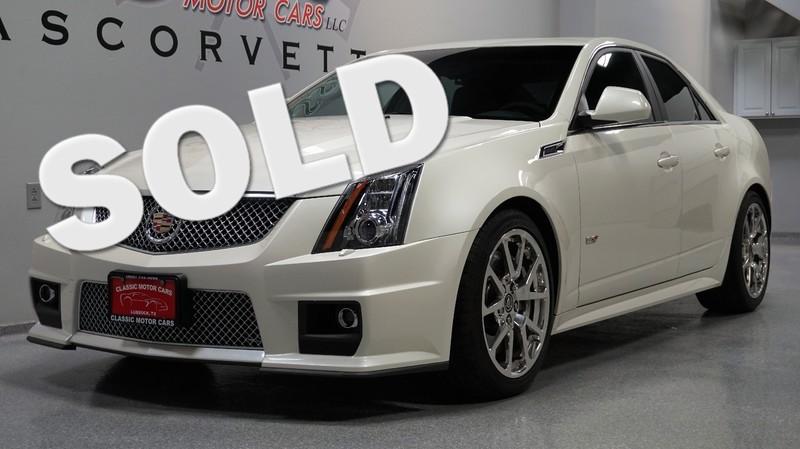 2011 Cadillac CTS-V CTS-V
