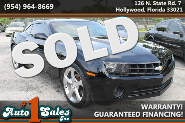 2011 Chevrolet Camaro 2LS  WARRANTY FLORIDA VEHICLE TRADES WELCOME Classic American Sport