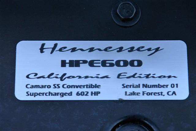 2011 Chevrolet Camaro SS  602HP Hennessey Phoenix, AZ 22