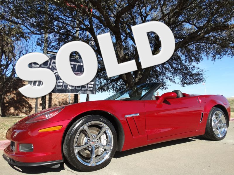 2011 Chevrolet Corvette Z16 Grand Sport Convertible 3LT, NAV, NPP, 35k! | Dallas, Texas | Corvette Warehouse