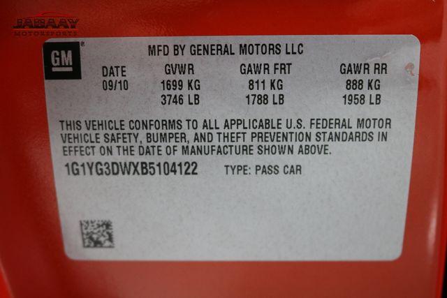 2011 Chevrolet Corvette w/3LT Merrillville, Indiana 48