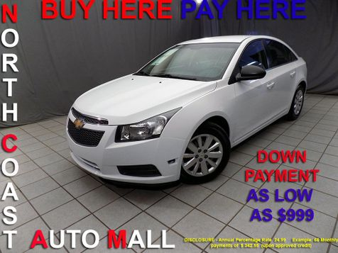 2011 Chevrolet Cruze LS As low as $999 DOWN in Cleveland, Ohio