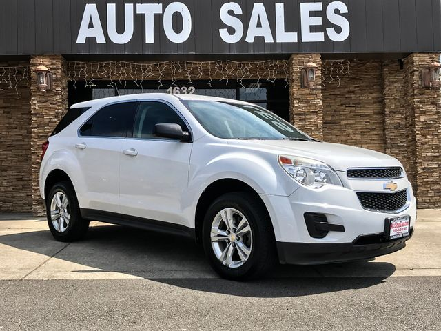 2011 Chevrolet Equinox LS AWD The CARFAX Buy Back Guarantee that comes with this vehicle means tha