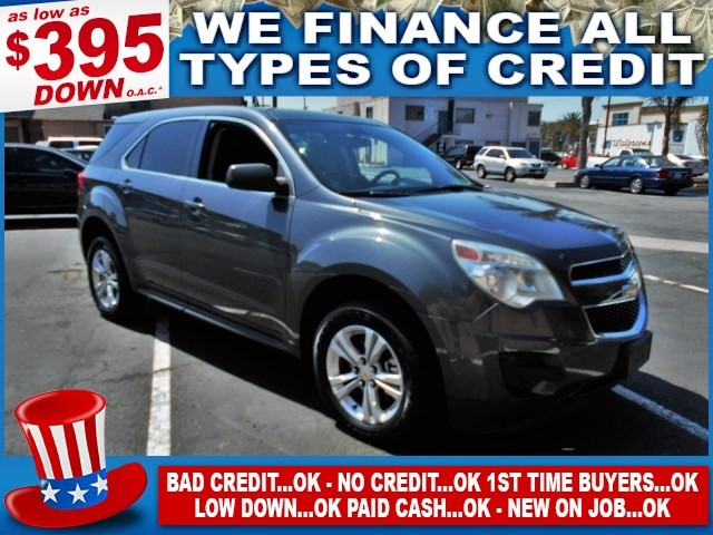 2011 Chevrolet Equinox LS Limited warranty included to assure your worry-free purchase AutoCheck
