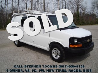 2011 Chevrolet Express Cargo Van 2500, 1-OWNER, V8, PD, PW, RACKS, BINS, NEW TIRES in  Tennessee