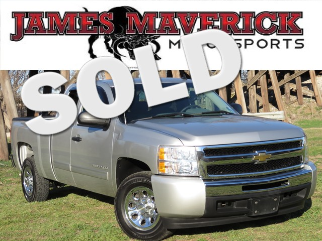 2011 Chevrolet Silverado 1500 LS CLEAN CARFAX TEXAS ONE OWNER EXTENDED CAB LS GREAT MILES