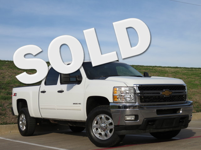 2011 Chevrolet Silverado 2500HD LT 4x4 Z71 TEXAS VEHICLE HEAVY DUTY TRAILERING EQUIPMENT NEW TI