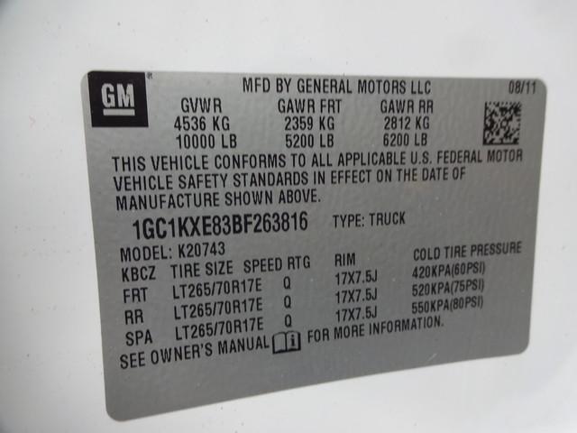 2011 Chevrolet Silverado 2500HD LT Corpus Christi, Texas 45
