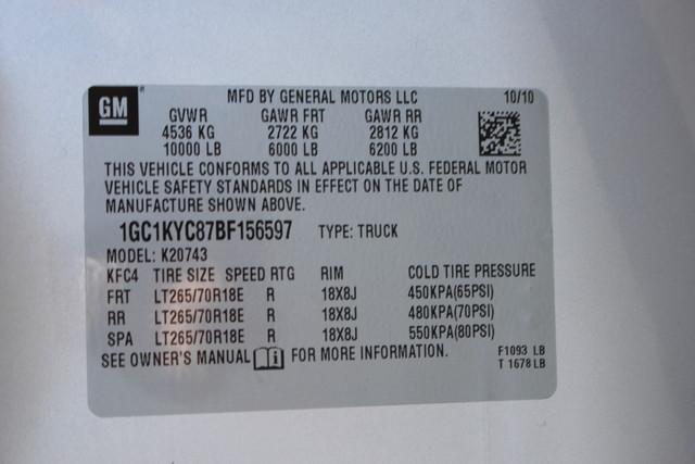2011 Chevrolet Silverado 2500HD LTZ PLUS Crew Cab 4x4 - DURAMAX/ALLISION! Mooresville , NC 71