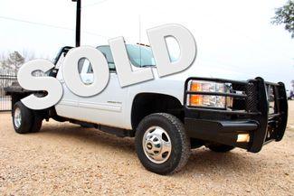 2011 Chevrolet Silverado 3500 HD DRW LTZ Crew Cab 4X4 6.6L Duramax Diesel Auto Cannonball Bale Bed Sealy, Texas