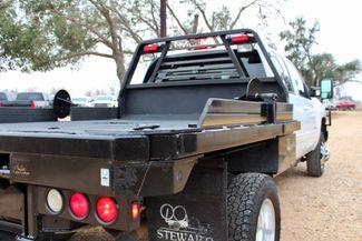 2011 Chevrolet Silverado 3500 HD DRW LTZ Crew Cab 4X4 6.6L Duramax Diesel Auto Cannonball Bale Bed Sealy, Texas 10
